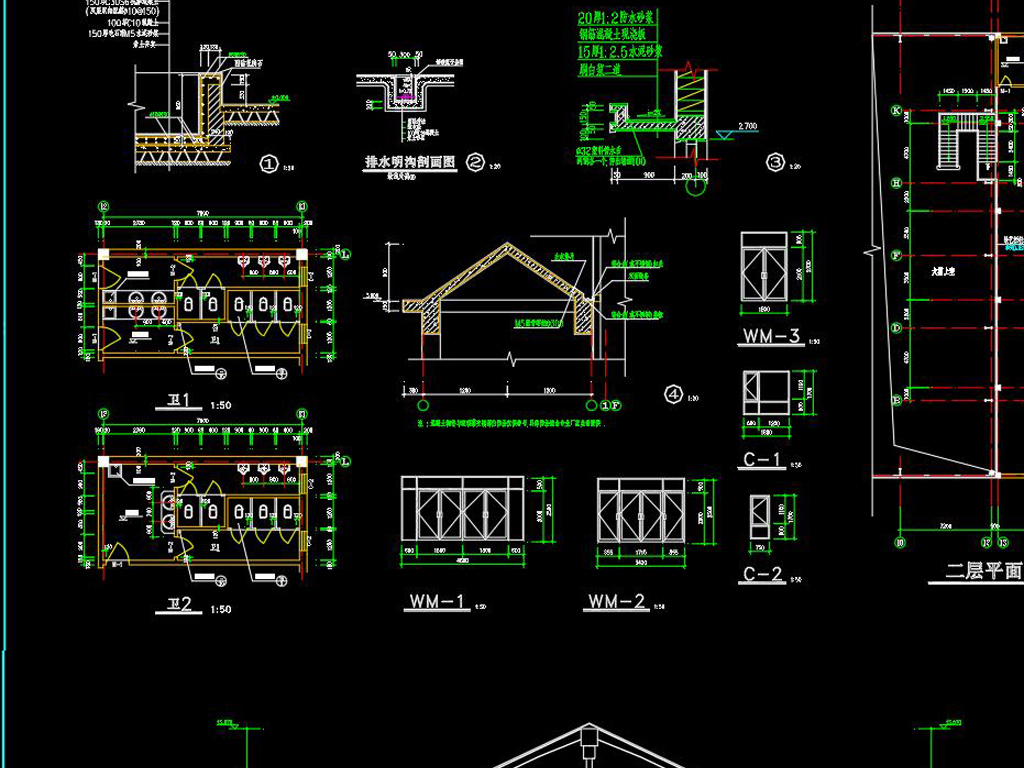 温室大棚设计CAD图纸(含建筑说明) - 土木在线