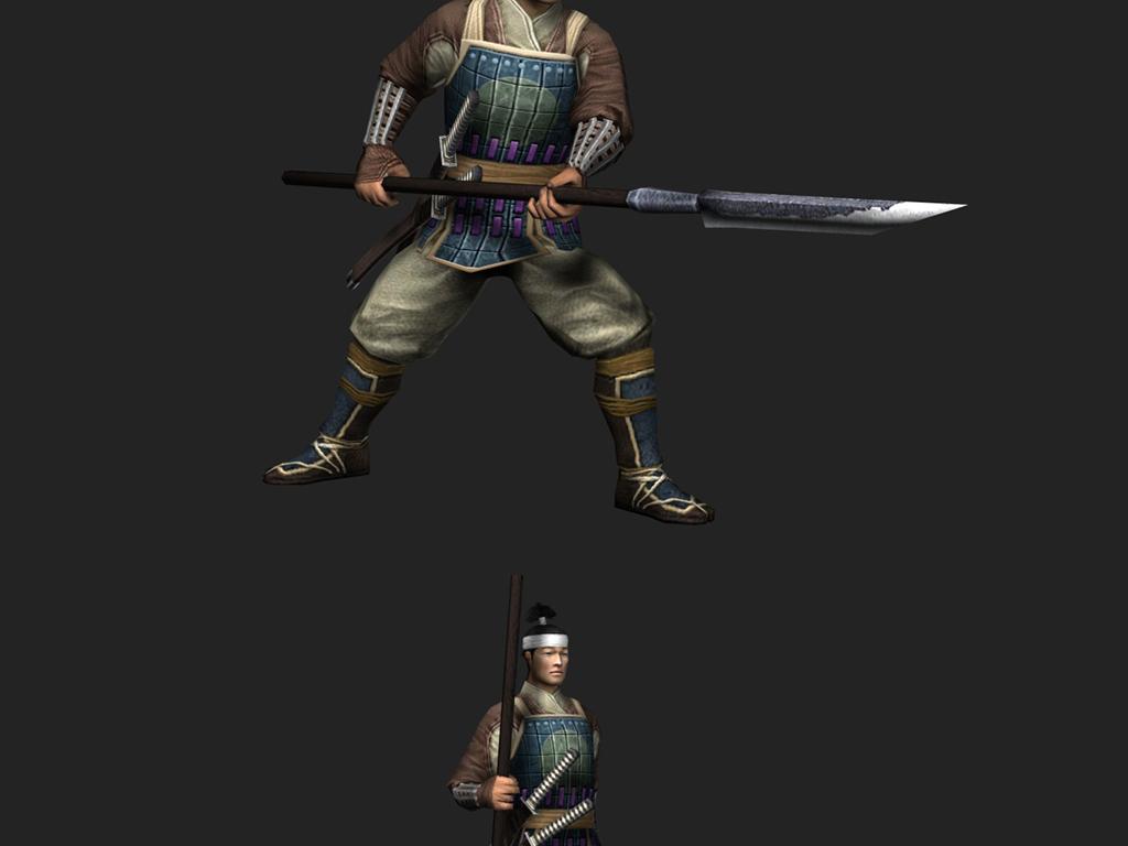 古代人物武士士兵