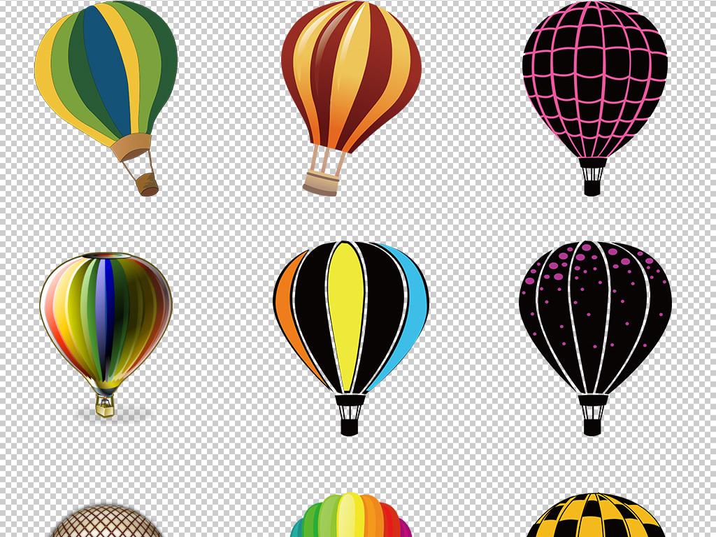 爱心气球                                          手绘