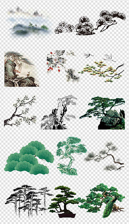 PNG卡通国画 PNG格式卡通国画素材图片 PNG卡通国画设计模板 我图网图片