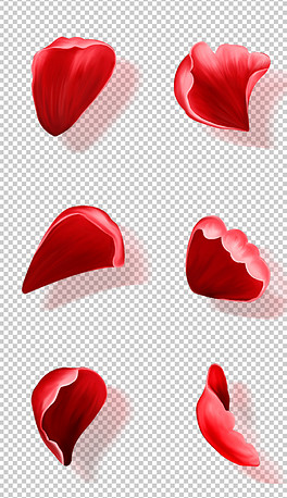 PSD红玫瑰飘落 PSD格式红玫瑰飘落素材图片 PSD红玫瑰飘落设计模板 我图网