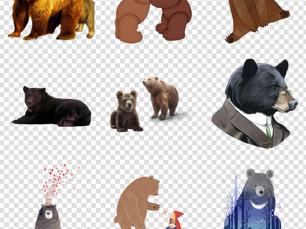 大黑熊图片