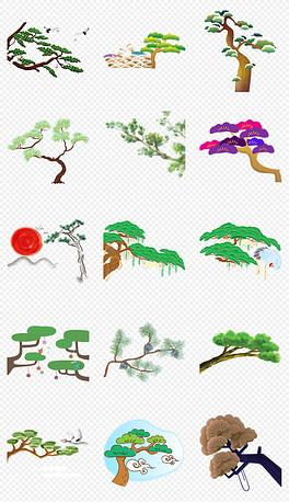 PNG松,梅竹 PNG格式松,梅竹素材图片 PNG松,梅竹设计模板 我图网图片