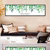 北欧组合画简约无框画绿植装饰画客厅床头画