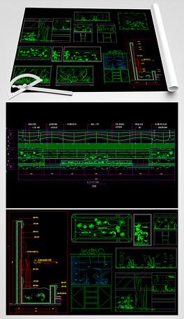 激活柜CAD图纸8.1win2007cad鱼缸图片