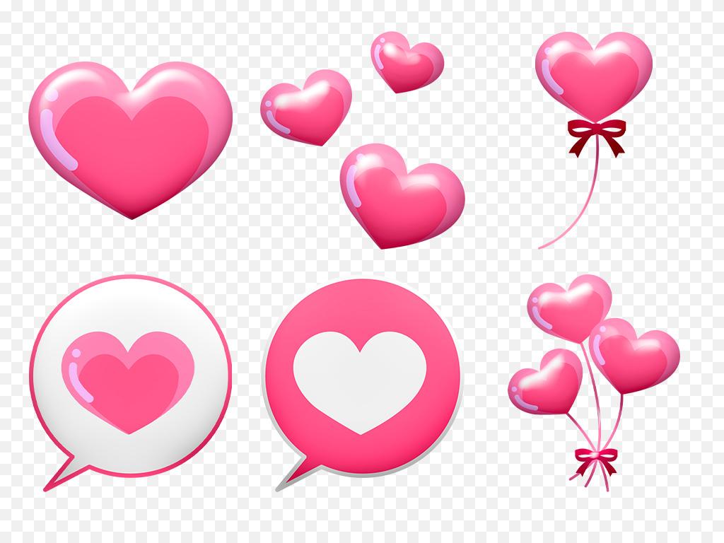 手绘背景爱心背景心形背景素材心形爱情情人节素材心形素材爱心心形情