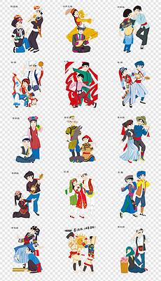 DOCX民族风格人物 DOCX格式民族风格人物素材图片 DOCX民族风格人物设计模板 我图网