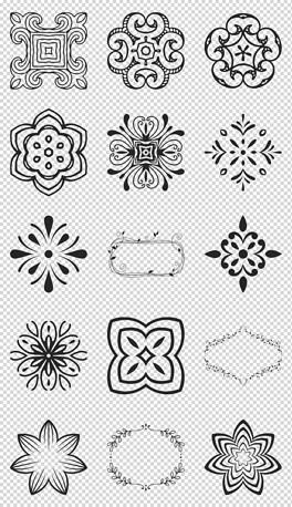 PNG西藏图案 PNG格式西藏图案素材图片 PNG西藏图案设计模板 我图网