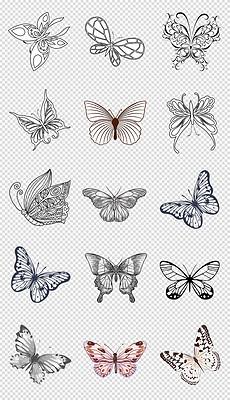 JPG蝴蝶花纹黑白 JPG格式蝴蝶花纹黑白素材图片 JPG蝴蝶花纹黑白设计模板 我图网