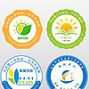 精美学校小学中学幼儿园校徽班徽logo设计