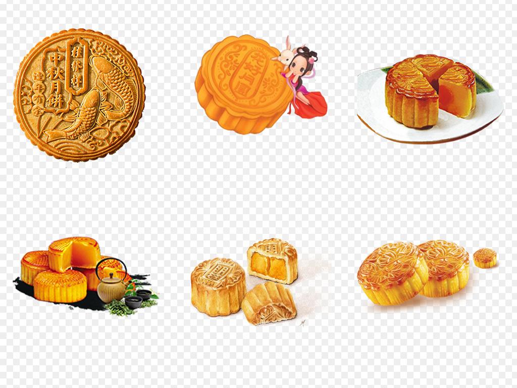 中秋节八月十五月饼礼品PNG免扣包装素材图片 模板下载 60.49MB 食图片
