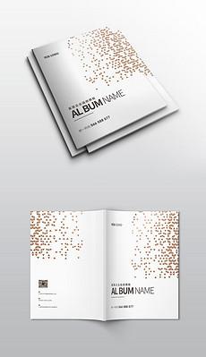 2019简约商务企业画册宣传册模板图片9