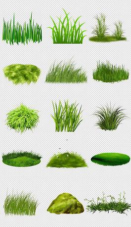 PNG小草小树 PNG格式小草小树素材图片 PNG小草小树设计模板 我图网