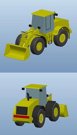 IGS装载机cad_IGS剖面装载机cad素材图片_IG2010cad格式画线如何图片