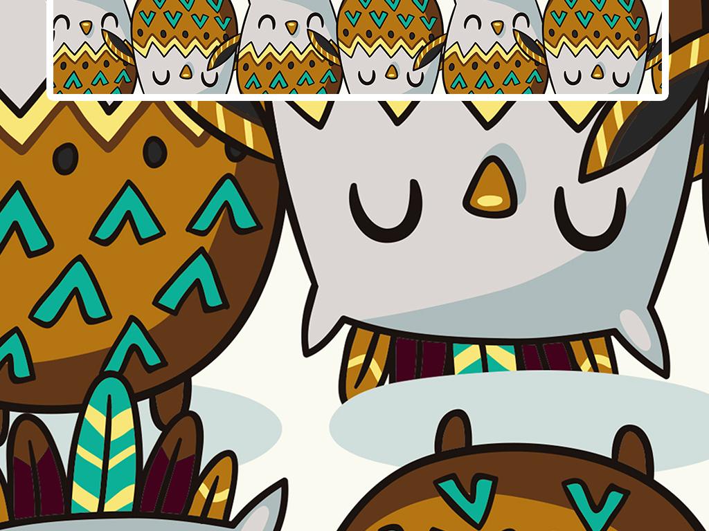 彩色动物创意艺术时尚北欧现代简约地毯设计