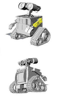 机器人瓦力模型 机器人瓦力模型库下载 机器人瓦力模型素材 我图网