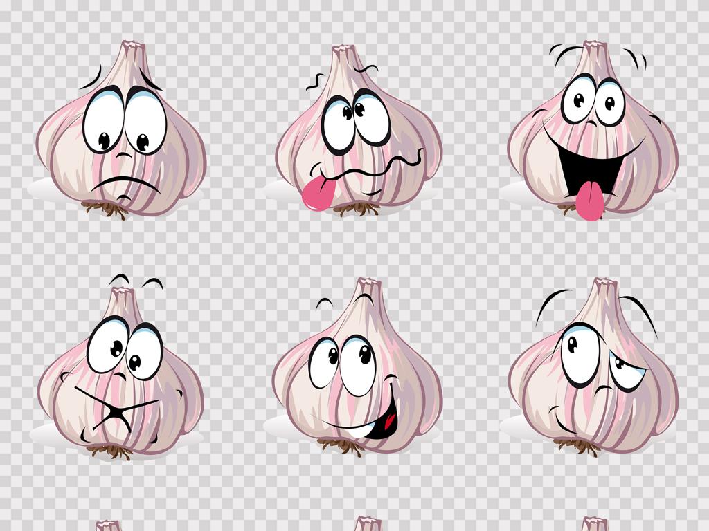 动漫蔬菜人手绘蔬菜卡通蔬菜素材蔬菜可爱表情手绘卡通可爱卡通手绘素