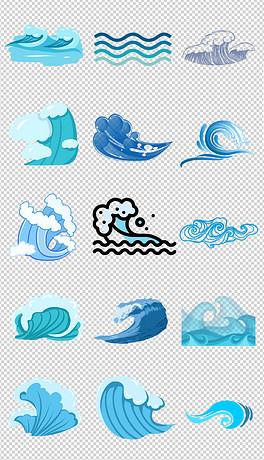 PNG海边卡通 PNG格式海边卡通素材图片 PNG海边卡通设计模板 我图网