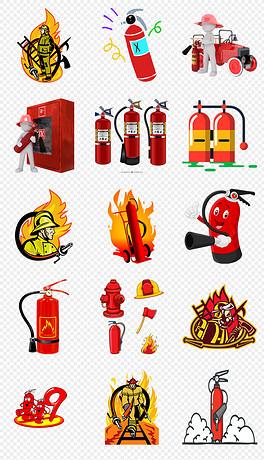 PNG消防安全标识