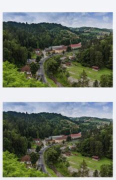 PPT欧洲乡村风景 PPT格式欧洲乡村风景素材图片 PPT欧洲乡村风景设计模板 我图网