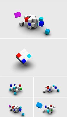 PPT立方体动画 PPT格式立方体动画素材图片 PPT立方体动画设计模板 我图网