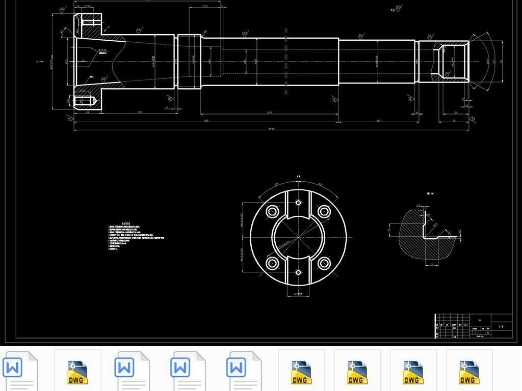 CAD大模数铣刀出图专用机床v模数(说明书+CA装修设计师蜗杆有哪些图片