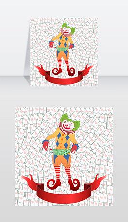 EPS卡通扑克牌 EPS格式卡通扑克牌素材图片 EPS卡通扑克牌设计模板 我图网图片