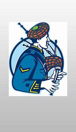 风笛手图片素材 风笛手图片素材下载 风笛手背景素材 风笛手模板下载 我图网