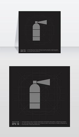 EPS灭火器图标 EPS格式灭火器图标素材图片 EPS灭火器图标设计模板 我图网
