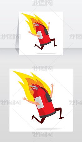 EPS消防员卡通 EPS格式消防员卡通素材图片 EPS消防员卡通设计模板 我图网