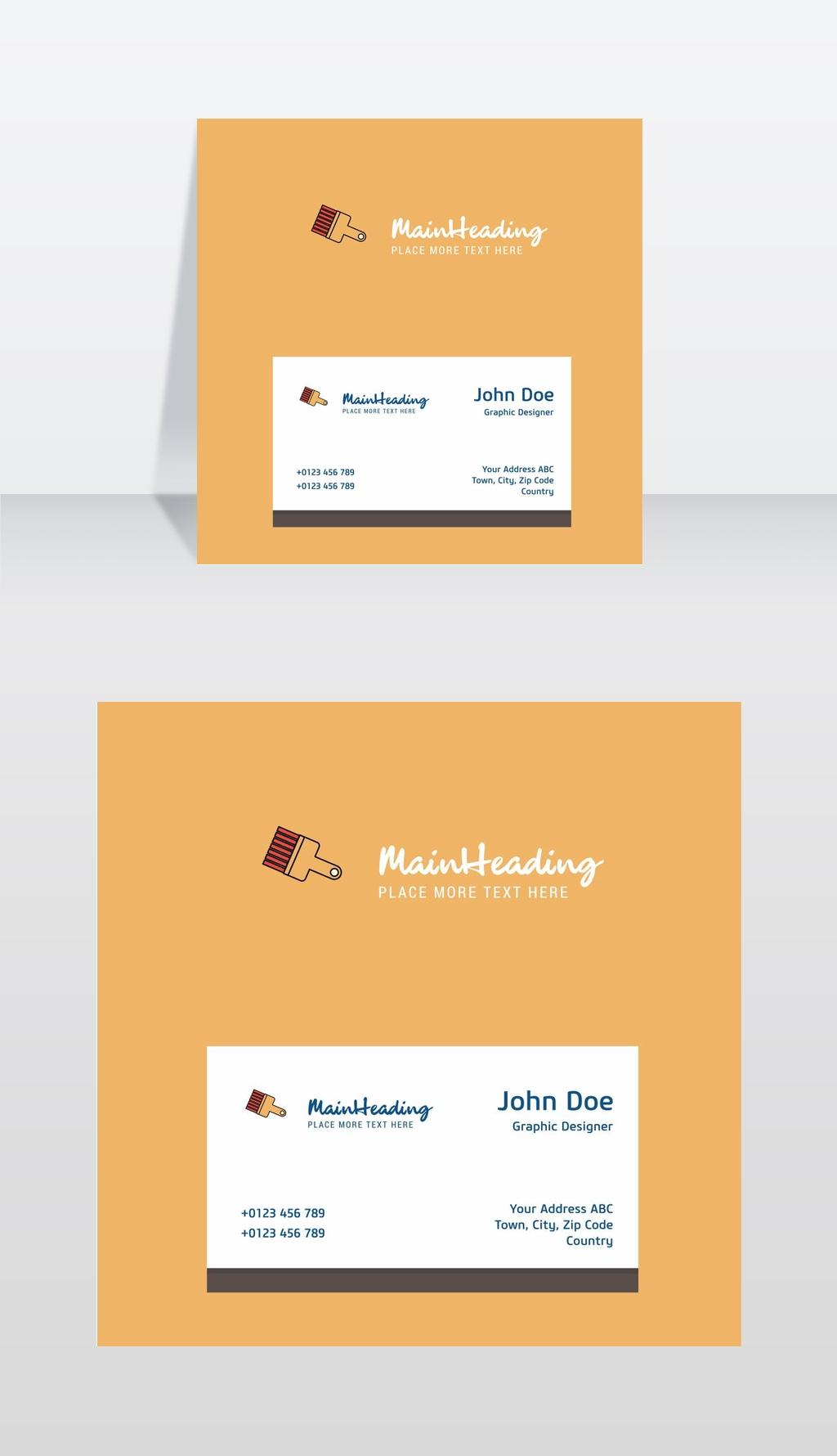用模板名片绘制画笔标志设计a模板的企业形象国外商业广场景观设计图片