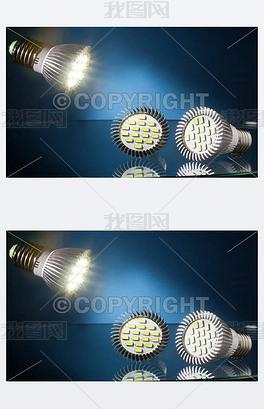 JPG蓝色LED灯 JPG格式蓝色LED灯素材图片 JPG蓝色LED灯设计模板 我图网