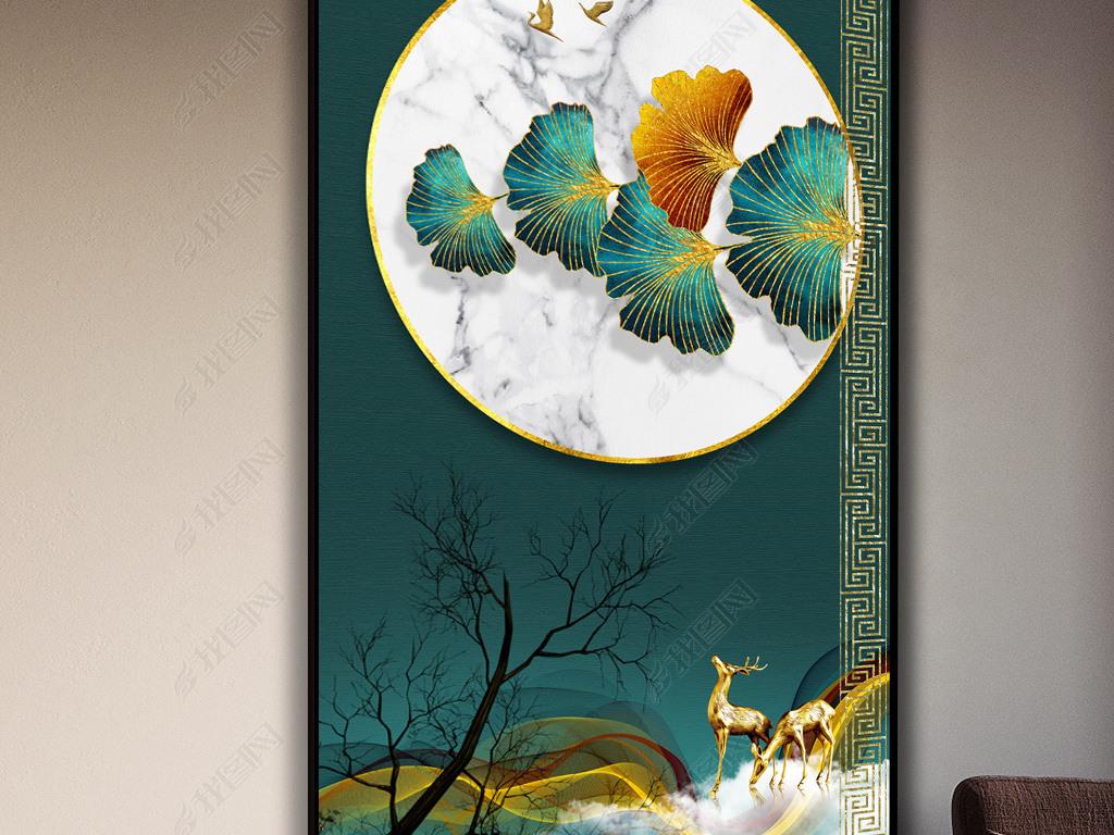 创意手工画:枫叶银杏叶diy鸡妈妈带着鸡宝宝散步