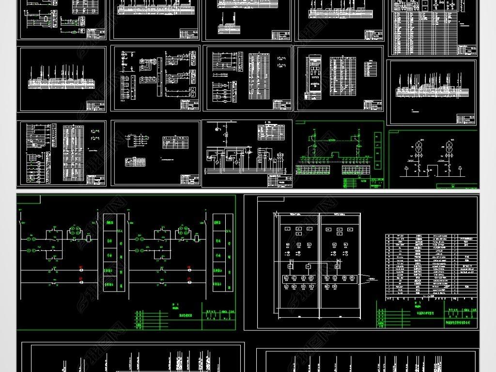 水电站CAD平面设计图天水云天建筑设计图片