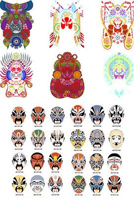 中国京剧脸谱设计 中国京剧脸谱设计模板下载 中国京剧脸谱图片素材