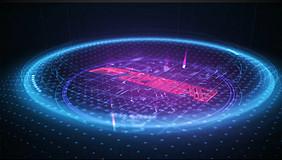 科技感冲击波特效动画Logo片头AE模板