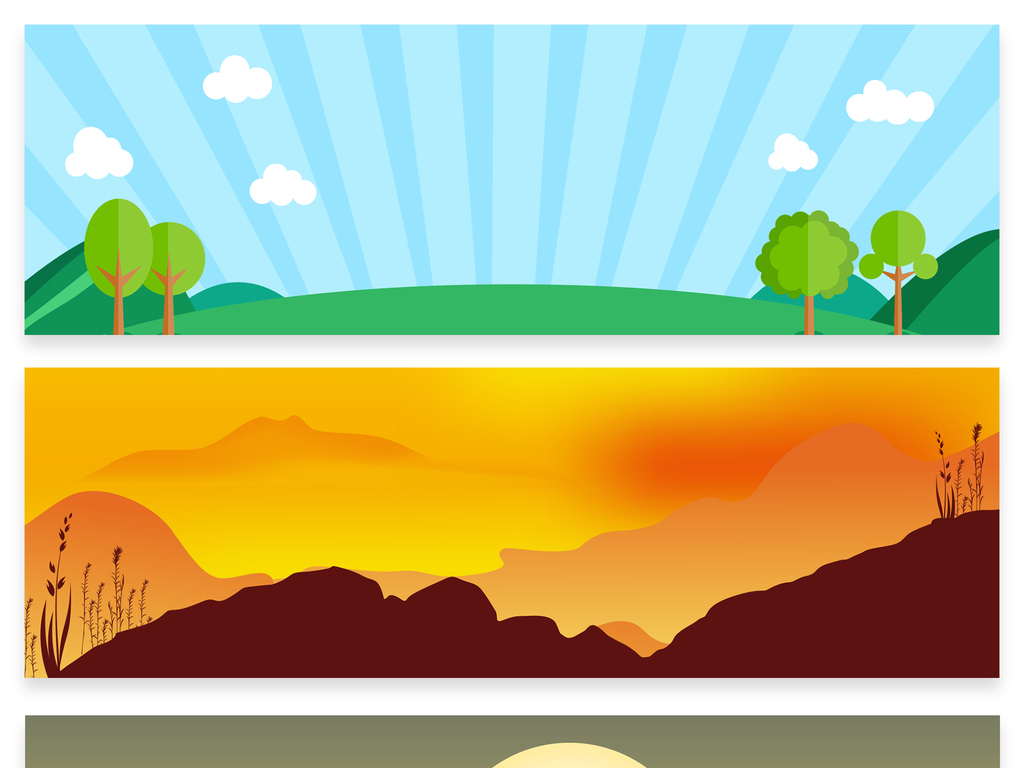 卡通手绘淘宝海报banner背景素材是用户qqdaa8004a在2017-09-18 17:10