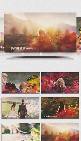 AECC水墨中国风相册展示folder