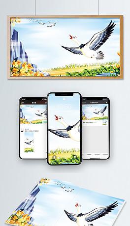 PSD卡通大雁 PSD格式卡通大雁素材图片 PSD卡通大雁设计模板 我图网