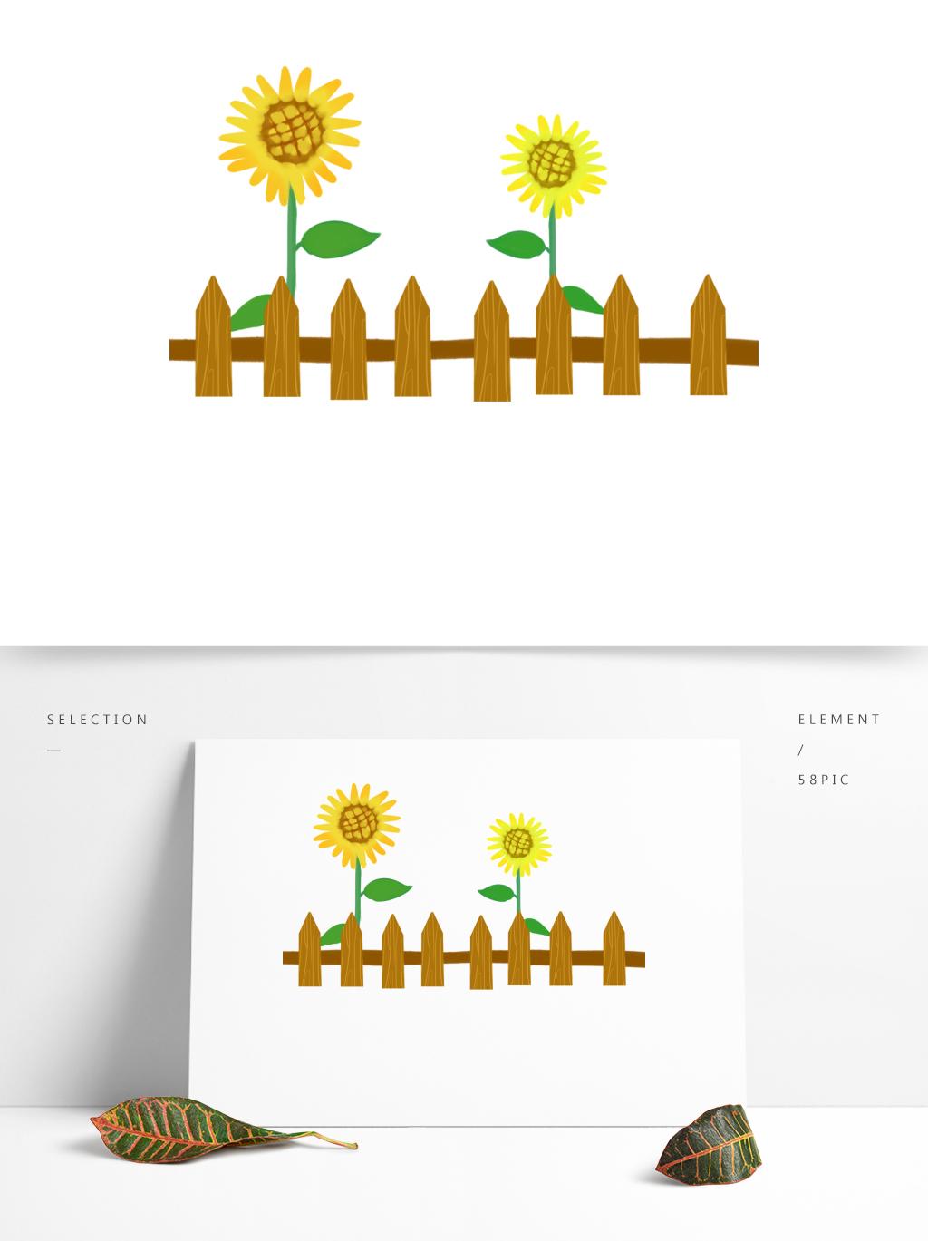 图片免费下载 卡通篱笆素材 卡通篱笆模板 千图网图片