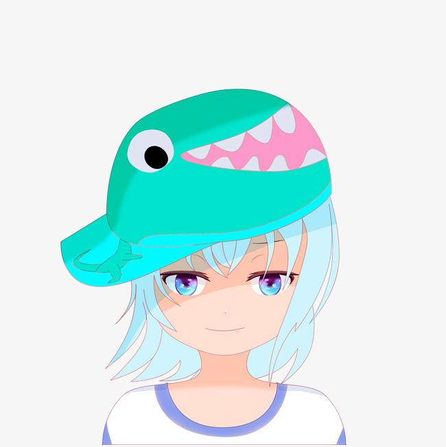 > 卡通带帽子的小女孩头像   图片编号:27697178 文件格式:psb 颜色