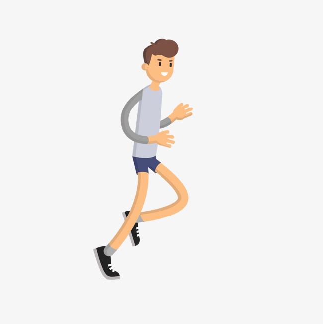 运动健身卡通跑步矢量图图片素材 其他格式 下载 动漫人物大全