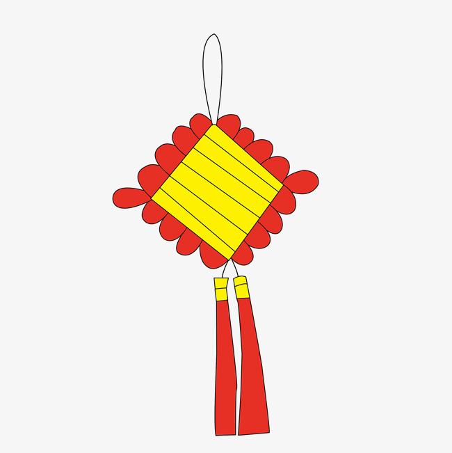 卡通简笔画春节中国结PNG图片素材 其他格式 下载 动漫人物大全