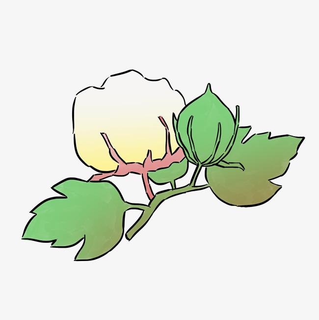 秋季主题农作物手绘插画