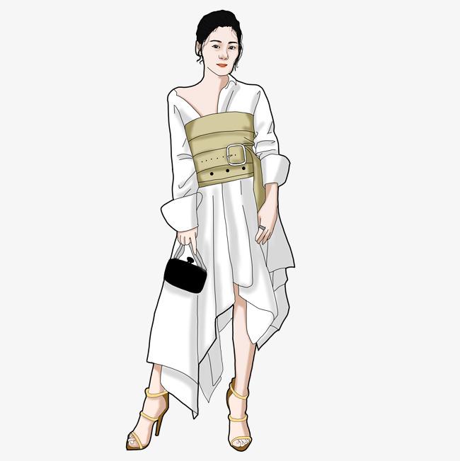 淘宝服饰女模特时尚达人时尚欧美平面模特服装