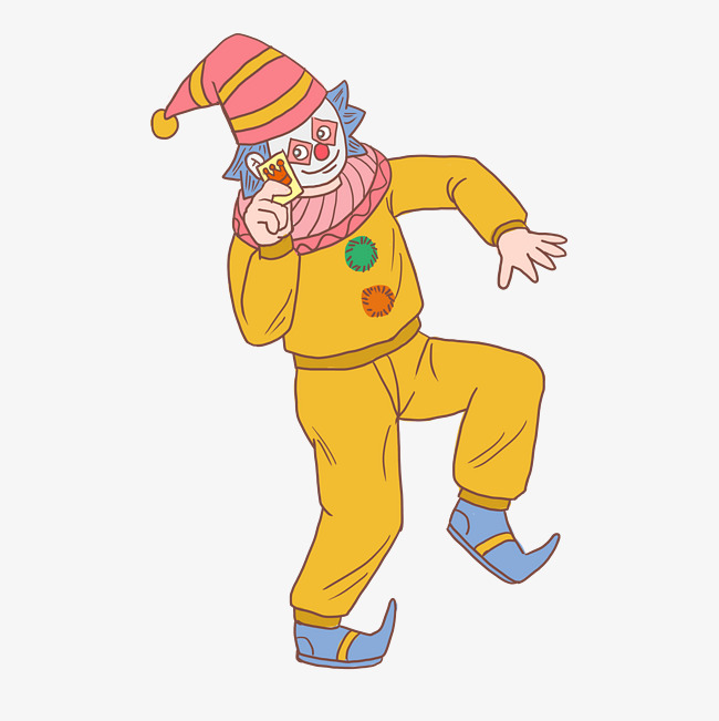 万圣节扑克牌小丑手绘卡通图片素材 其他格式 下载 动漫人物大全图片