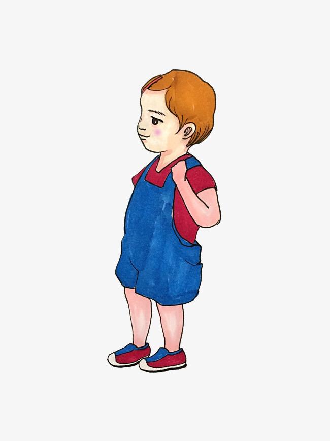 原创设计撞色蓝色红色系手绘插画风背带裤卡通男孩png免抠图素材是用户mqk103946在2018-12-26 11:38:49上传到我图网, 素材大小为0.00 mb, 素材的尺寸为3024px*4032px,图片的编号是27632467, 颜色模式为rg