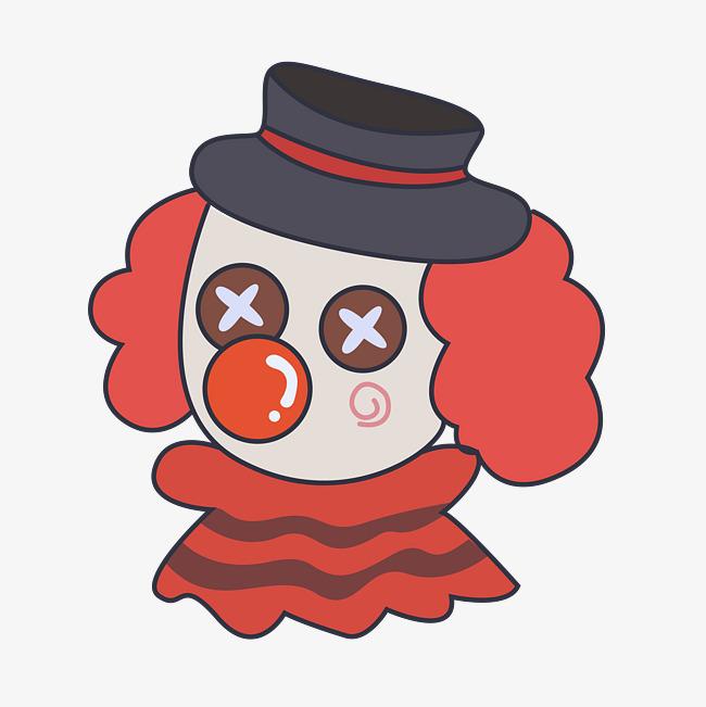 卡通手绘小丑布偶图片素材(其他格式)下载_动漫人物