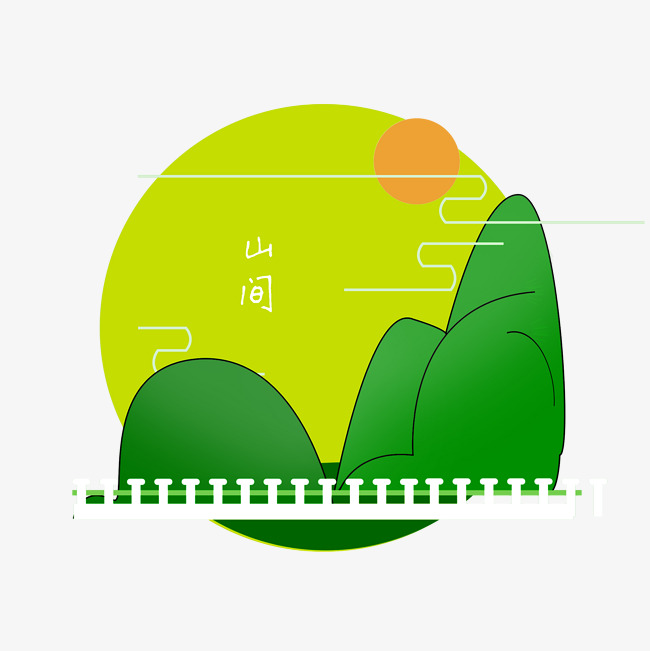 色彩唯美                                    绿水青山