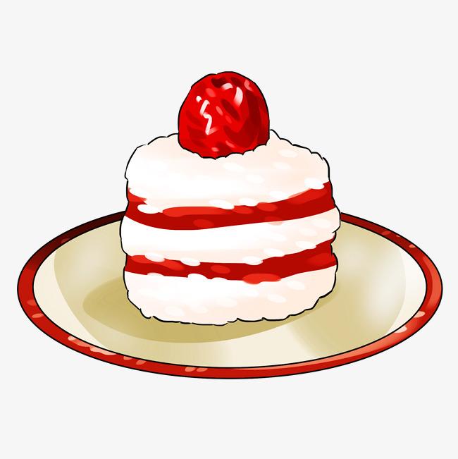 卡通手绘新年美食点心蛋糕图片素材 其他格式 下载 动漫人物大全
